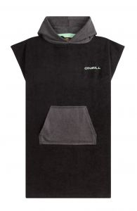 O'Neill---Men's-Hooded-towel---sleeveless---Jack's---Black-Out