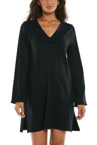 Coolibar---UV-Beach-Cover-Up-for-women---Samoa---Black