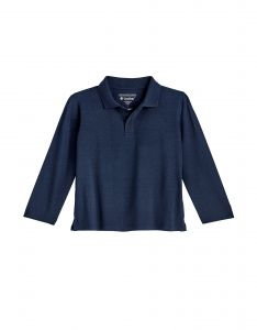 Coolibar---UV-Polo-Shirt-for-toddlers---Longsleeve---Coppitt---Navy