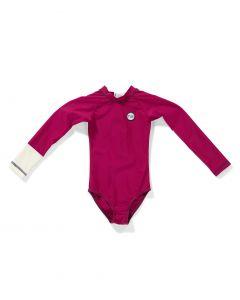 Tenue-de-Soleil---UV-Bathing-suit-for-girls---Malie---Violet-Purple