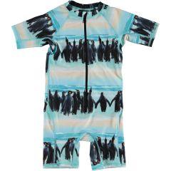 Molo---UV-Swimsuit-with-short-sleeves-for-boys---Neka---Penguin-Stripe