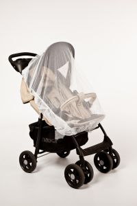 Altabebe---Universal-insect-net-for-strollers,-prams-and-buggies---White