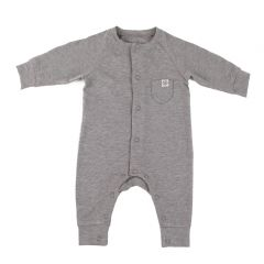 Cloby---UV-Playsuit-for-babies---Stone-Grey