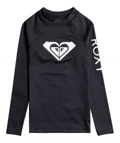 Roxy---UV-Swim-shirt-for-teen-girls---Longsleeve---Whole-Hearted---Anthracite