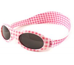 Banz---UV-Protective-Sunglasses-for-kids---Bubzee---Pink-Checkers
