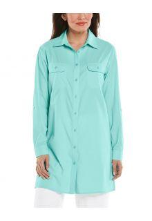 Coolibar---UV-Shirt-for-women---Santorini-Tunic-Blouse---Sea-Crystal