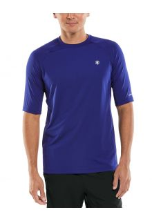 Coolibar---UV-Sports-Shirt-for-men---Agility-Performance---Midnight-Blue