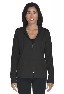 Cowl Neck Pullover - black - Front