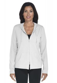 Cowl Neck Pullover - white - Front