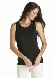 Coolibar---UV-Basic-Tank---Black