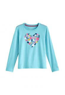 Coolibar---UV-Shirt-for-kids---Longsleeve---Coco-Plum-Graphic---Ice-Blue