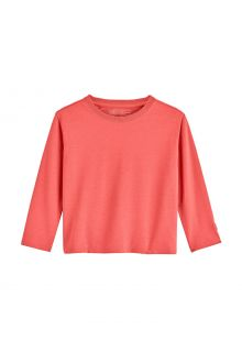 Coolibar---UV-Shirt-for-toddlers---Longsleeve---Coco-Plum---Island-Coral