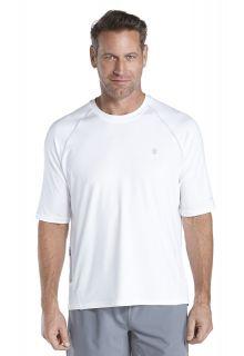 Coolibar---Short-sleeve-UV-sport-tee---white