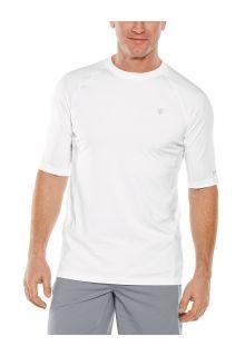 Coolibar---UV-Sports-Shirt-for-men---Agility-Performance---White