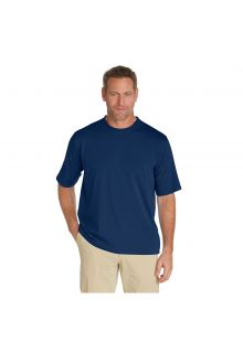 Coolibar---UV-shirt-for-men---Navy-blue