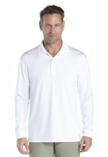 Coolibar---Sport-UV-Polo---white