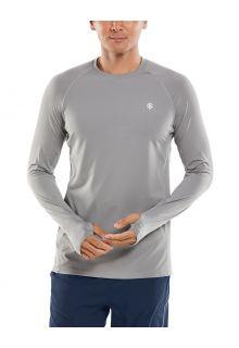 Coolibar---UV-Sports-Shirt-for-men---Longsleeve---Agility-Performance---Space-grey