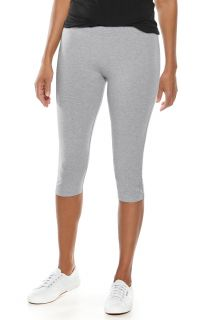 Coolibar---UV-capris-for-ladies---grey