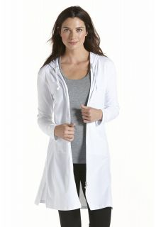 Coolibar---UV-long-cover-up-for-ladies---White