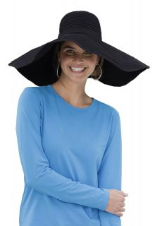 Coolibar---Shapeable-Poolside-UV-Sun-hat---Black