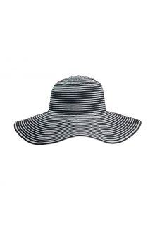 Coolibar---UV-Floppy-Hat-for-women---Ginger-Ribbon---Black/White