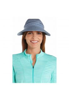 Coolibar---UV-sun-visor-for-women---Zip-off---Chambray-blue