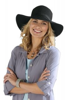 Coolibar---Shapeable-Travel-UV-Sun-Hat---Black