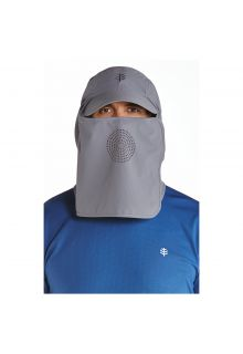 Coolibar---UV-sun-cap-with-neck-and-face-cover---Carbon-grey