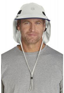 Coolibar---Chlorine-Resistant-Ultra-UV-Sport-Hat---stone