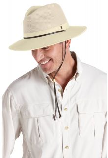 Coolibar---Crushable-Ventilated-Canvas-Hat--Beige