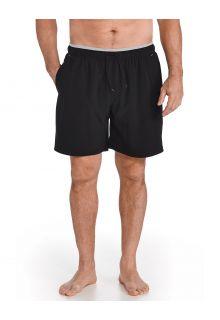 Coolibar---UV-Swim-Shorts-for-men---Kahuna---Black