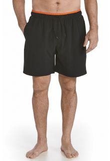 Coolibar---UV-Swimshort-Men---Black