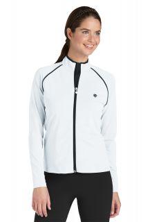 Coolibar---Long-Sleeve-UV-Water-Jacket---White/Black