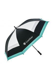 Coolibar---UV-resistant-Umbrella---Tournament-Golf---Black/White
