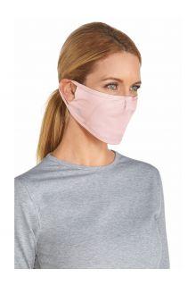 Coolibar---UV-resistant-Mask-for-adults---Blackburn---Petal-Pink