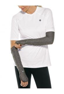 Coolibar---UV-Performance-Sleeves-for-women---Backspin---Charcoal