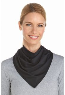 Coolibar---UV-resistant-bandana---Black