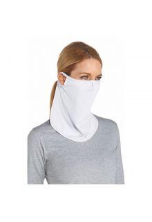 Coolibar---UV-face-mask-unisex--Long---White