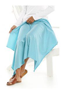 Coolibar---UV-resistant-Sun-Blanket---Savannah---Ice-Blue/White