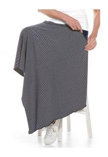 Coolibar---UV-resistant-Sun-Blanket---Savannah---Navy/White