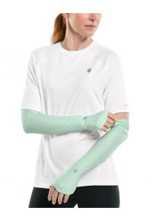 Coolibar---UV-Performance-Sleeves-for-women---Backspin---Aqua-Mist