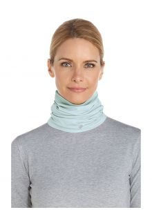 Coolibar---UV-resistant-Neck-Gaiter-for-adults---La-Plata---Light-Blue