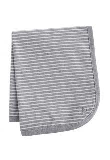 Coolibar---UV-resistant-Sun-Blanket-for-babies---Batibou---Grey/White