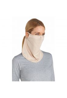 Coolibar---UV-face-mask-unisex--Long---Beige