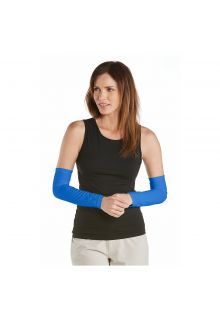 Coolibar---UV-sleeves-for-women---Brilliant-Blue