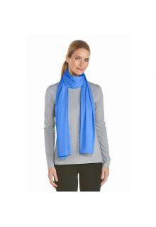 Coolibar---UV-sun-scarf---Light-Blue