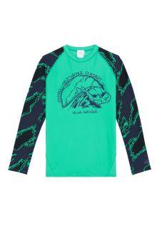 O'Neill---Boys'-UV-shirt---Longsleeve---Wave---Salina-Green