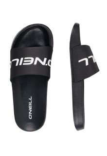 O'Neill---Men's-Slides---Logo---Black-Out