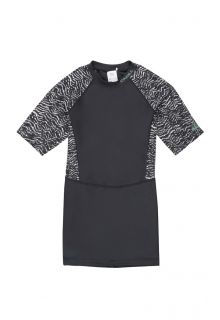 O'Neill---Women's-long-UV-shirt---short-sleeves---Mix---Black