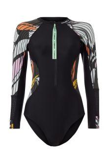 O'Neill---Women's-UV-Bathingsuit---Longsleeve---Suru---Black-Out-